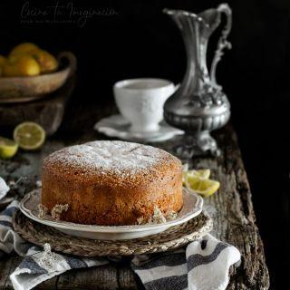 Bizcocho de yogur de limón, fácil y super esponjoso
