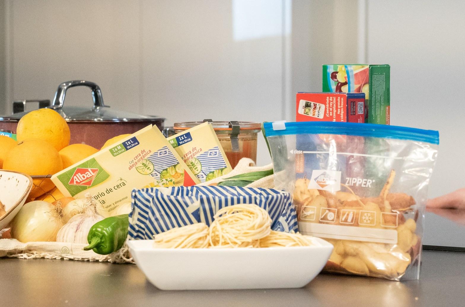 albal reutilizables food waste