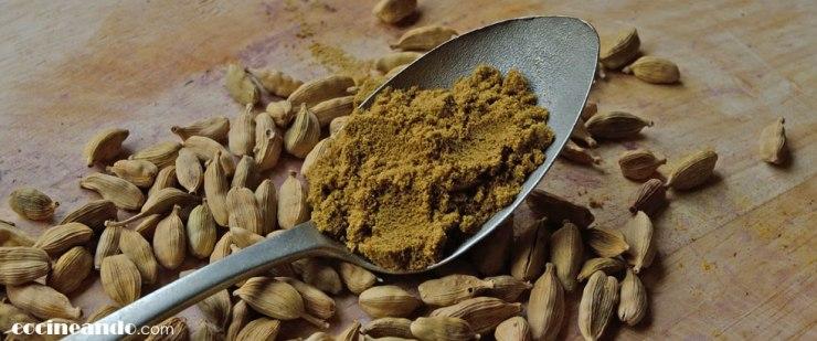 Usos culinarios del Cardamomo