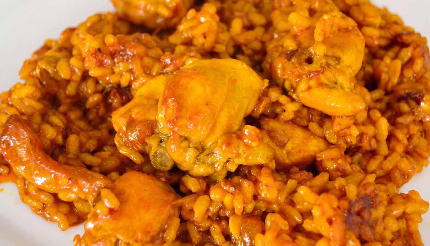 Receta de arroz con conejo - recetas de arroces y paellas - recetas realfooding o real food
