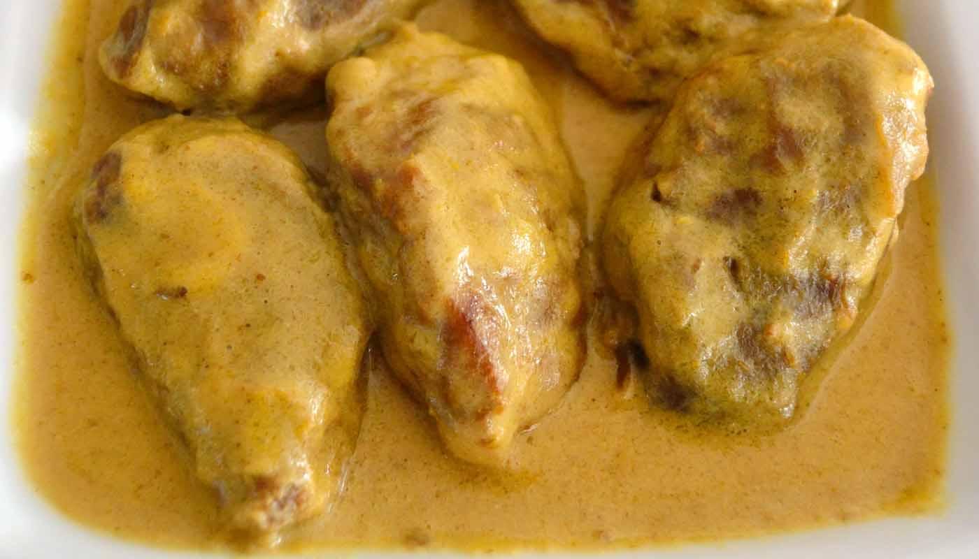 Receta de carrilleras de cerdo al curry - recetas de cerdo - recetas de carne - recetas realfooding o real food