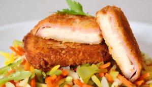 Receta de cordon bleu de pollo - recetas de pollo frito - recetas realfooding o real food