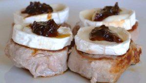 receta de solomillo de cerdo con queso y mermelada - recetas de cerdo - recetas de carnes - recetas realfooding o real food
