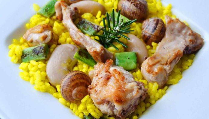 receta de paella valenciana - recetas tradicionales - recetas caseras -recetas faciles - recetas real food - recetas de arroces - recetas de paellas