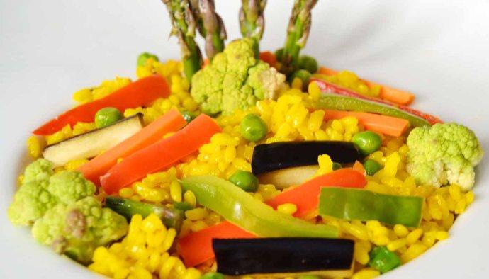 receta de paella de verdura - recetas tradicionales - recetas caseras -recetas faciles - recetas real food - recetas de arroces - recetas de paellas