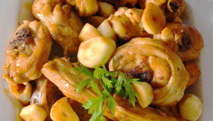 Receta de pollo al ajillo - recetas de pollo - recetas realfooding o real food