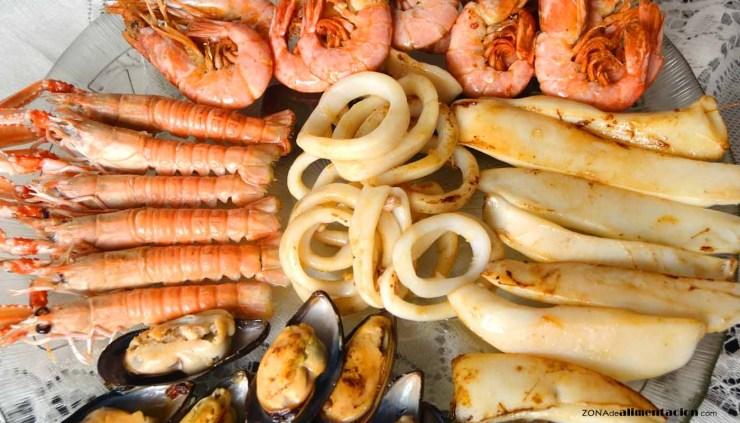 Tipos de mariscos y su valor nutritivo - ingredientes de cocina