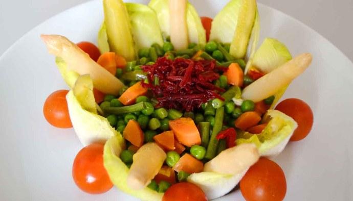 Receta de ensalada de hortalizas hervidas - recetas de ensaladas - recetas realfooding o real food