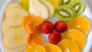 receta de mosaico de frutas - recetas de postres y dulces con frutas - recetas realfooding o real food