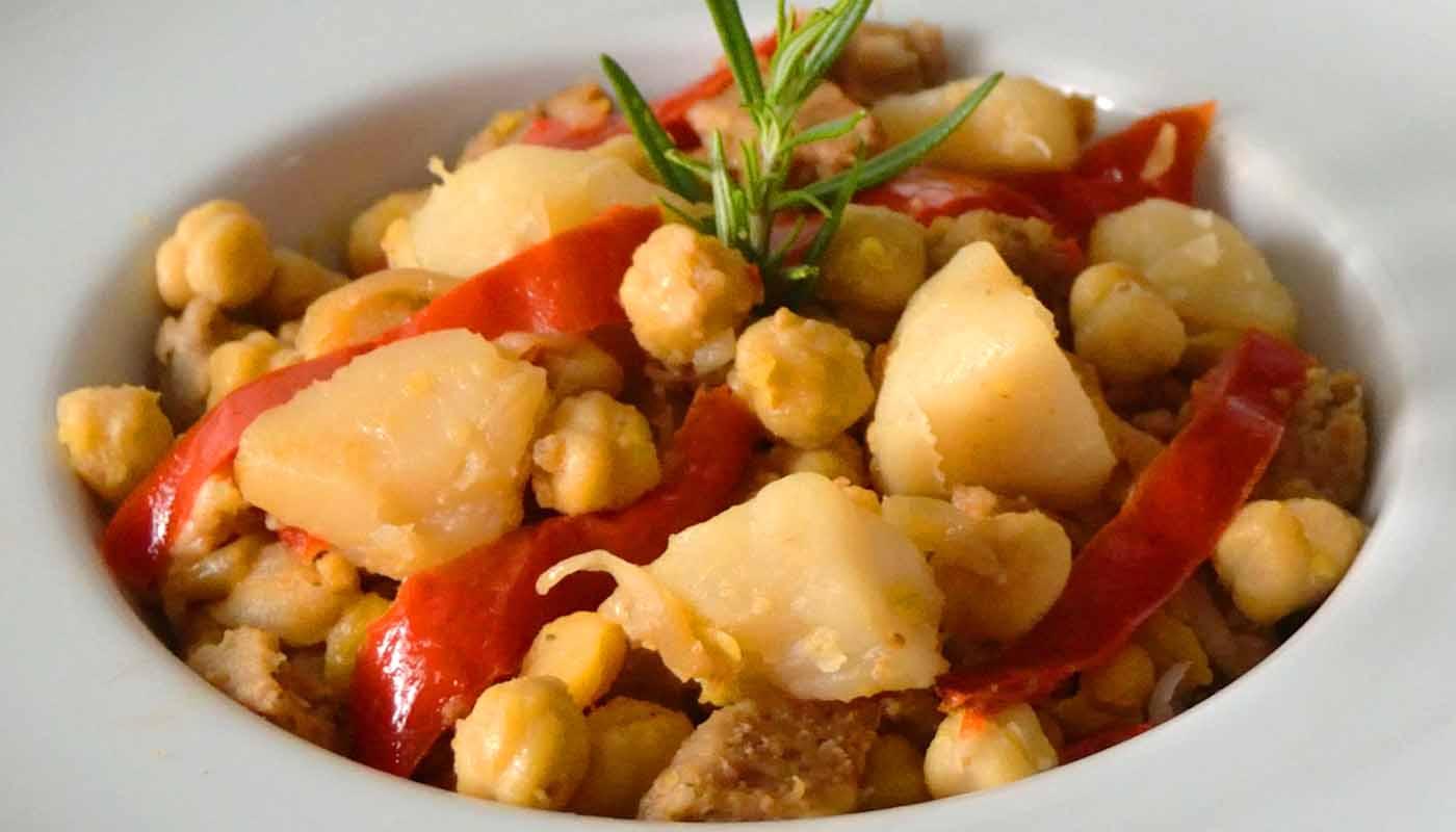 receta de ropa vieja - recetas de garbanzos - recetas de legumbres - recetas de reaprovechamiento - recetas realfooding o real food