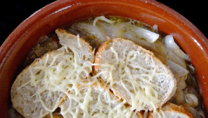 Receta de sopa de cebollas - recetas de sopas - recetas realfooding o real food
