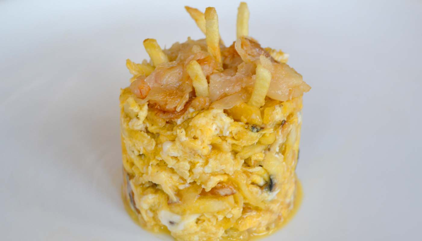 receta de bacalao dorado o bacalao a bras - recetas con bacalao - recetas de pescado -* recetasrealfooding o real food