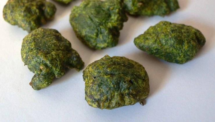 Receta de buñuelos de espinacas - recetas de verduras y hortalizas - recetas realfooding o real food