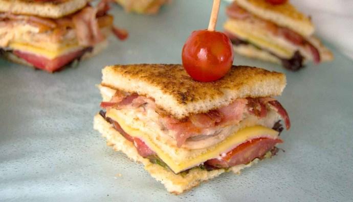 Receta de Club Sándwich - recetas de bocadillos y sandwiches - recetas realfooding o real food
