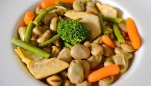 Receta de habas guisadas con verduras - recetas de habas - recetas de legumbres - recetas realfooding o real food