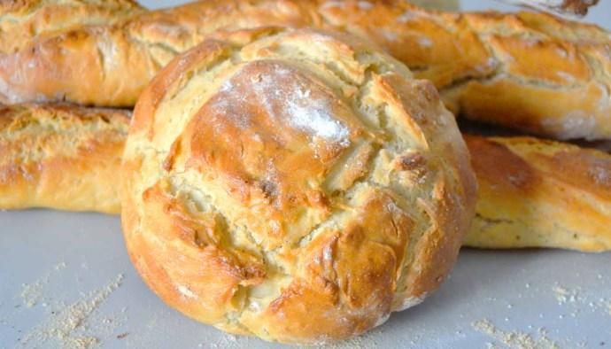 receta de pan blanco casero - recetas de panes caseros - recetas realfooding o real food