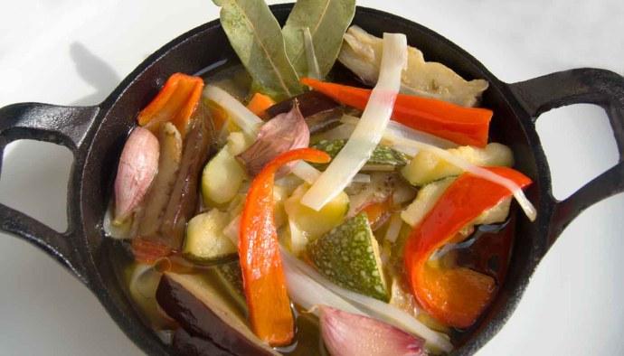 receta de verduras en escabeche o escabechada - recetas con escabeche - recetas de escabeches - recetas de verduras y hortalizas - recetas sanas - recetas realfooding o real fooding
