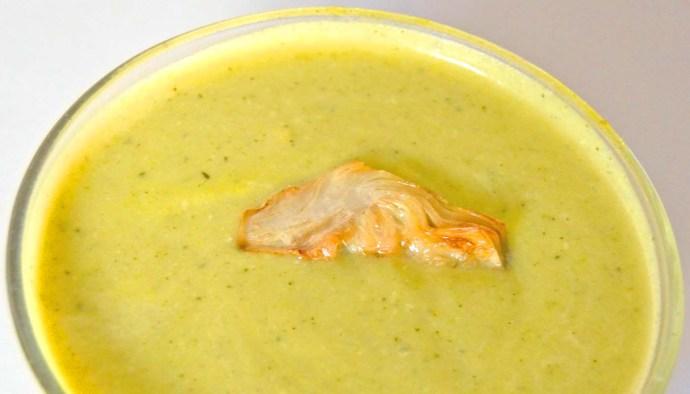 Receta de crema de alcachofas - recetas de cremas de verduras - recetas con alcachofas - recetas realfooding o real food
