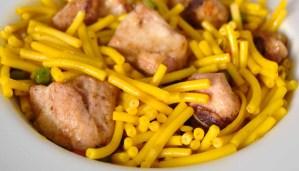 Receta de fideos a la cazuela con carne - recetas de fideos - recetas de pasta - recetas realfooding o real food