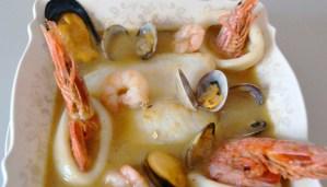 receta de sopa bullabesa - recetas de sopas de pescados y mariscos - recetas realfooding o real food