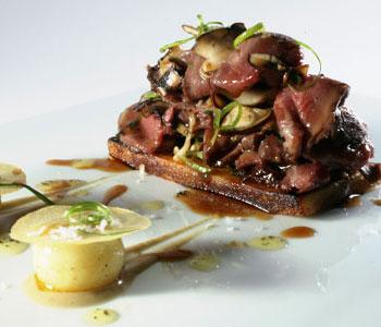 El restaurante Àbac, tres estrellas Michelin: menús y estilo culinario