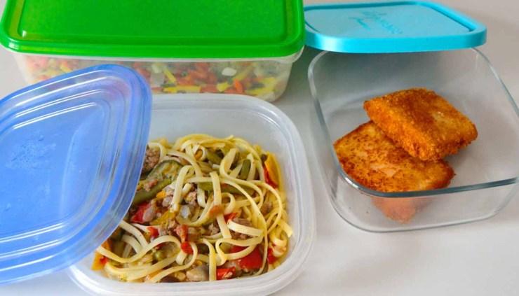 Cómo preparar y transportar comida en el tupper