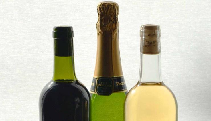 tipos de botellas de vinos y sus funciones