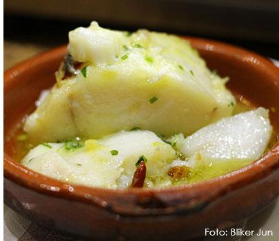 Gastronomía típica del País Vasco o Euskadi: pescados