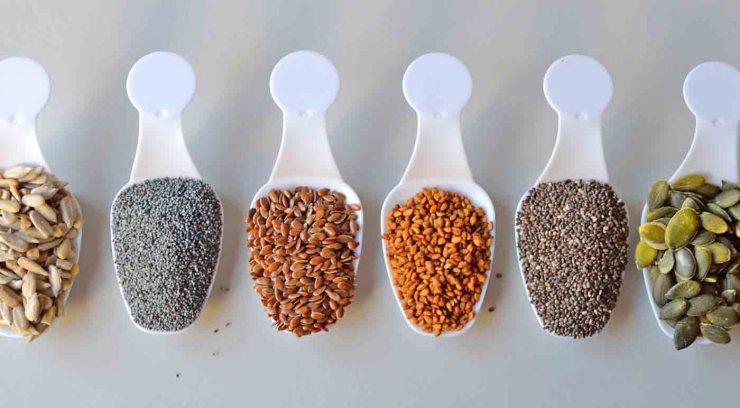 Seis semillas para enriquecer tus recetas