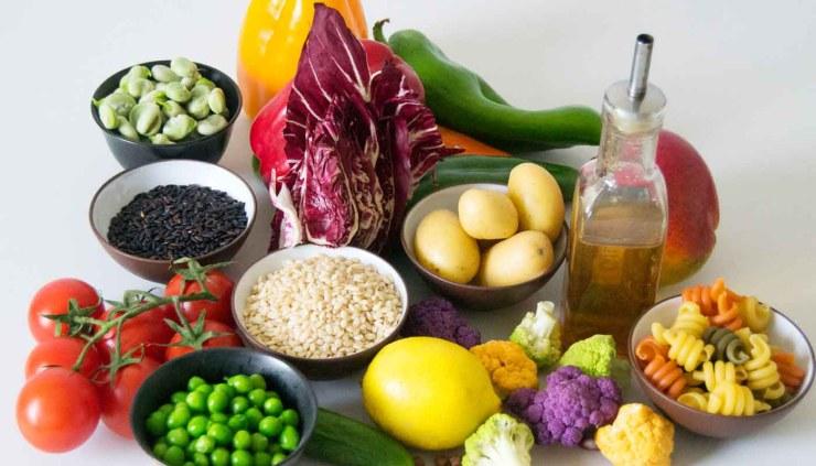 La pirámide alimenticia vegetariana, ¿cómo funciona?