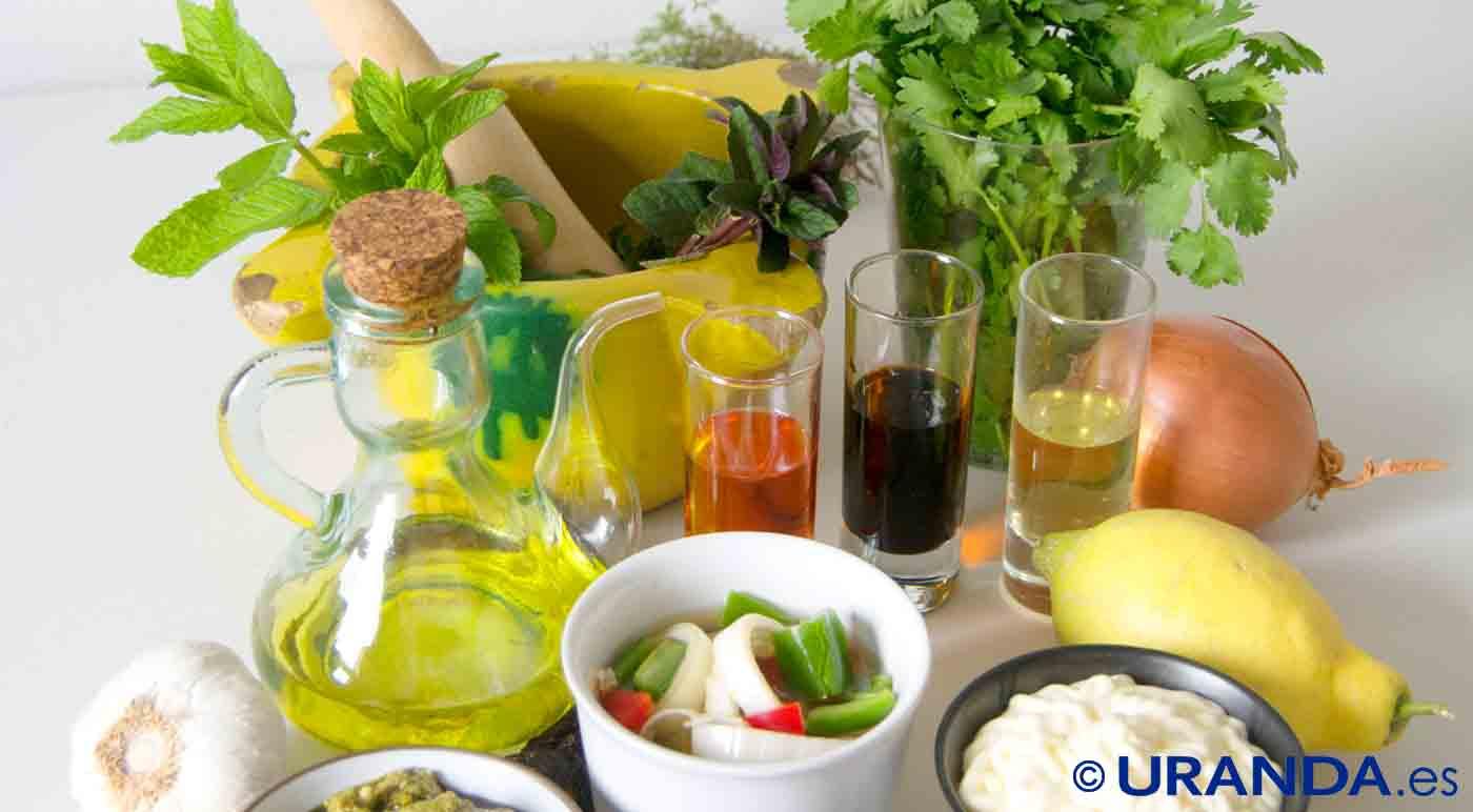Del aliño a las salsas cremosas para tus ensaladas - técnicas y trucos de cocina