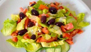 receta de ensalada verde mixta - recetas de ensaladas