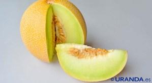 Melón, valor nutritivo o nutricional y propiedades nutritivas