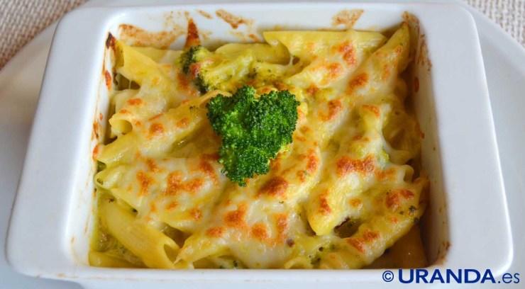 receta de macarrones gratinados con queso vegano - recetas vegetarianas y veganas - recetas de pasta