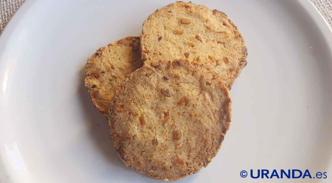 Receta de galletas caseras de naranja - recetas de dulces y postres caseros - recetas realfooding o real food