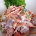 salade de poisson cru ©cocineraloca.fr