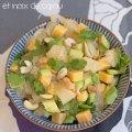 salade pamplemousse avocat gouda ©cocineraloca.fr