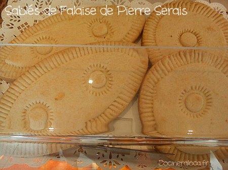 Sablés de Falaise de Pierre Serais ©cocineraloca.fr
