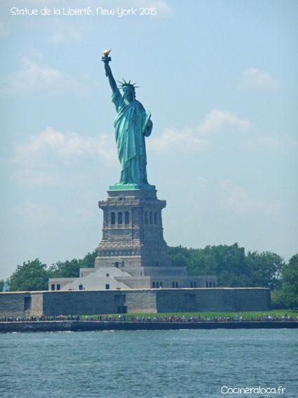 Statue de la liberté ©cocineraloca.fr