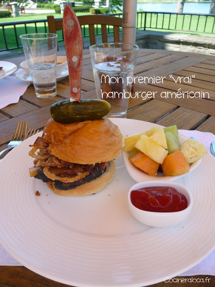 Hamburger américain vrai de vrai ©cocineraloca.fr