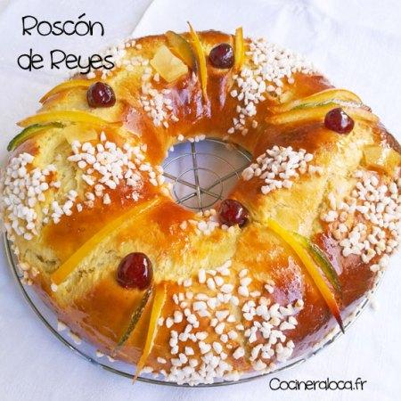 Roscón de Reyes entier