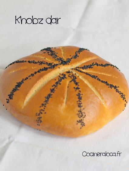 Khobz dar : pain maison algérien