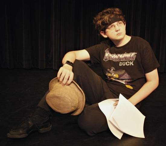 Young son as Richard III at Summer of Shakespeare camp, Tallahassee Democrat, July 28, 2009