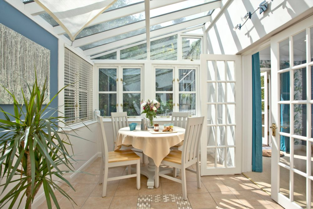 Conservatory at Mallock Cottage