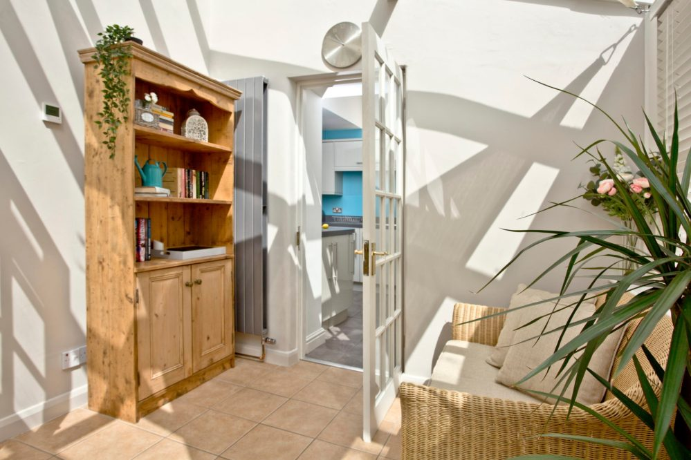 Mallock Cottage conservatory