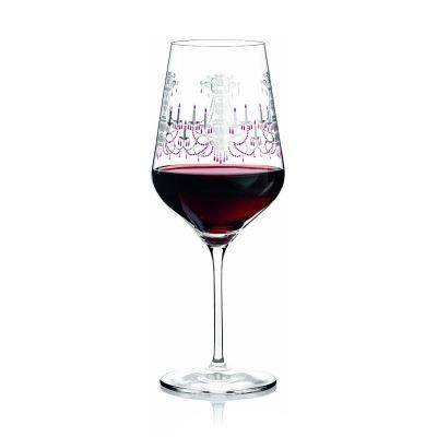 Ritzenhoff-3000004-Design-Rotweinglas-Neie-F13-Glaeser-mit-Muster