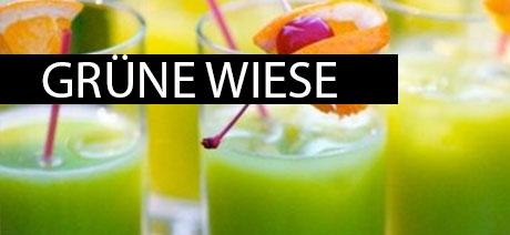 Grüne Wiese Getränk