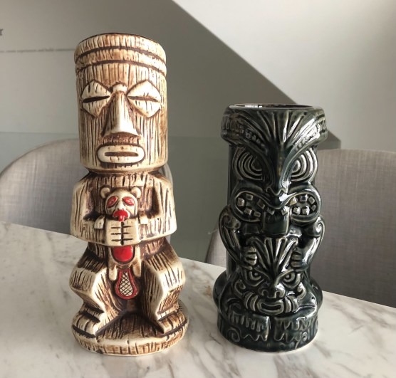 萊姆酒調酒 - Tiki風味酒杯