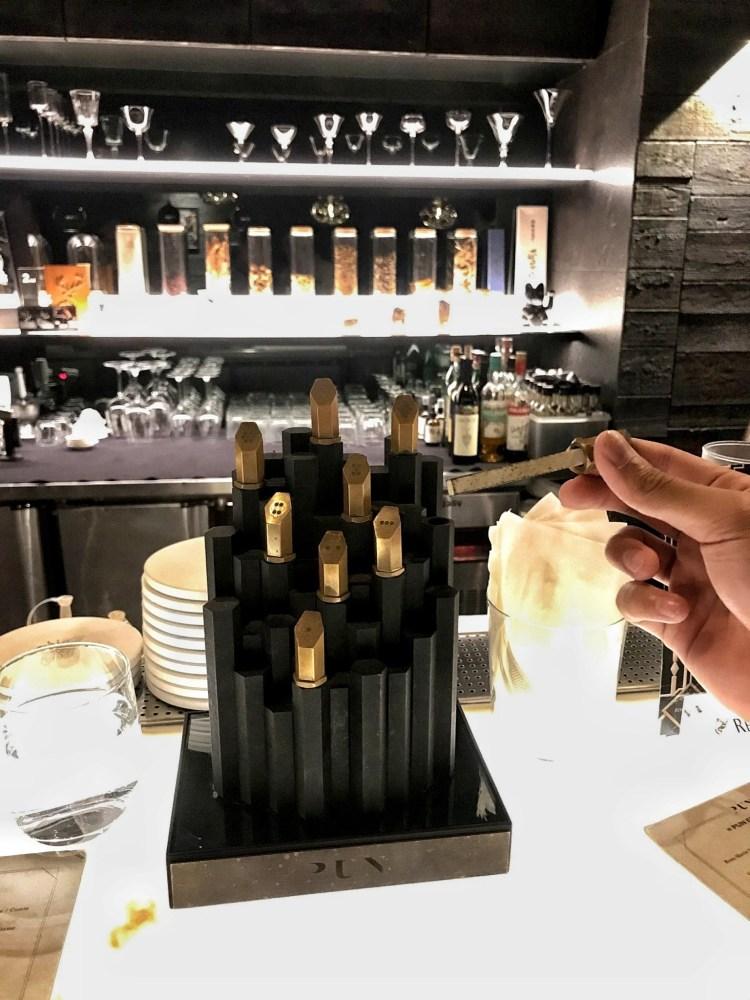 Bar Pun- 調酒 點酒 香水塔 蜂巢