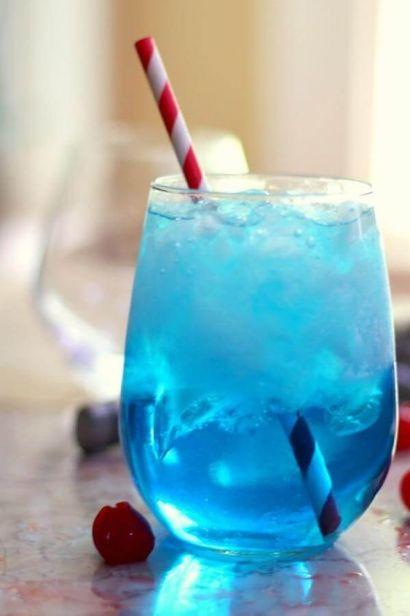 琴酒-藍色調酒